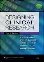 Designing Clinical Research Textbook Image